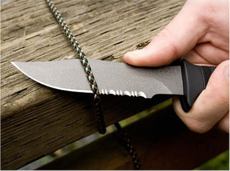 SOG Specialty Knives & Tools M37N-CP Seal Pup Knife