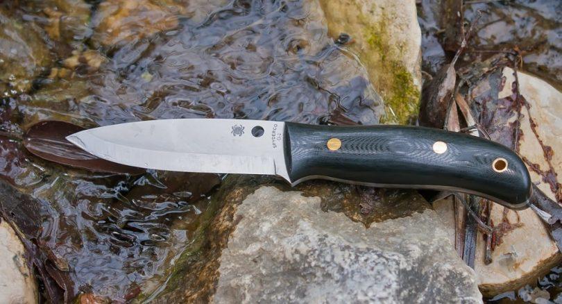 Spyderco Bushcraft G-10 PlainEdge Knife