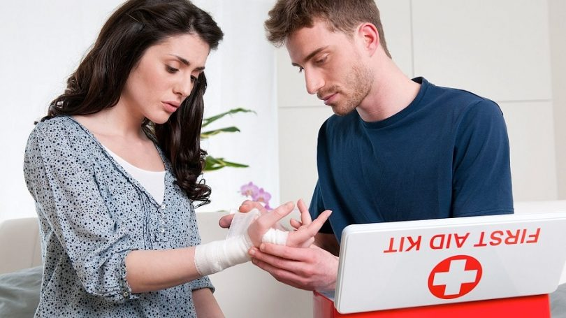 Stop the bleeding with first aid
