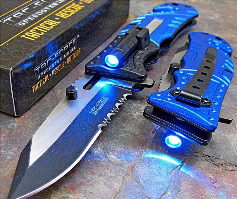 TAC Force Police Rescue Pocket Knife