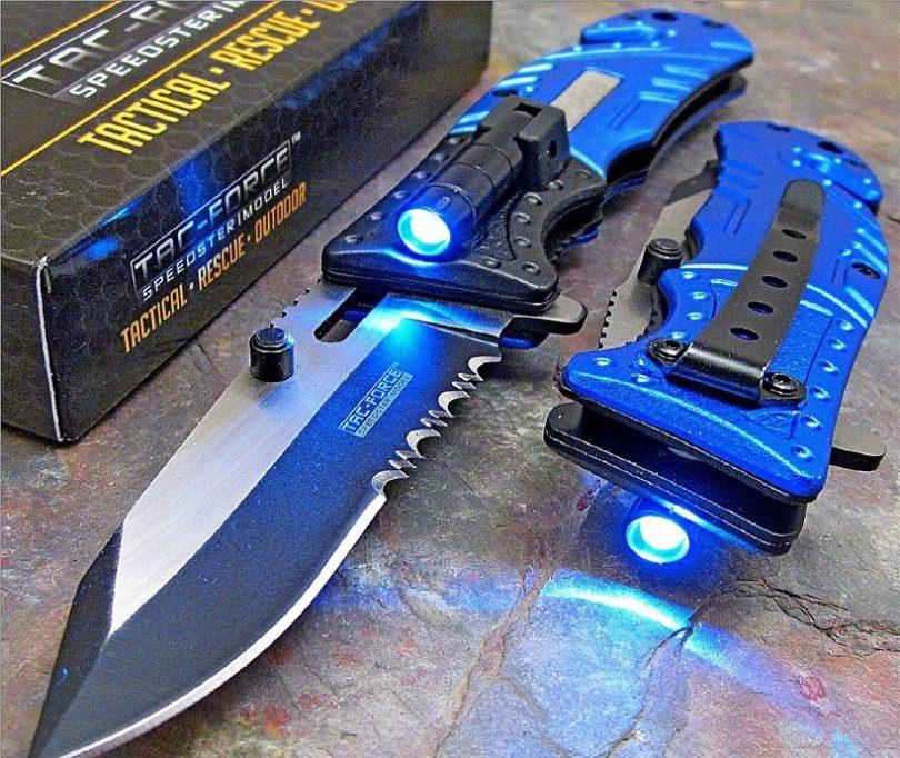 TAC Force Police Rescue Pocket Knife