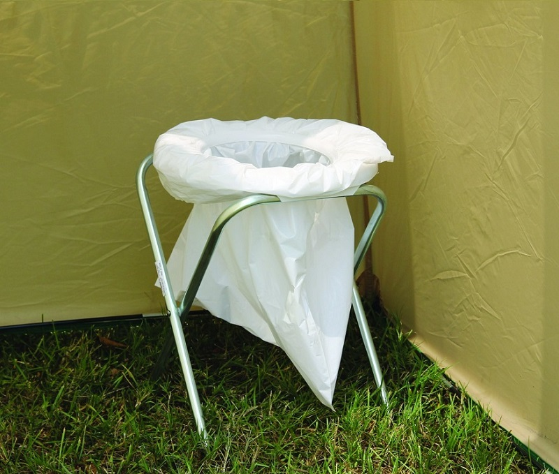 The Rothco Portable Camp Toilet