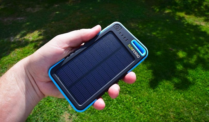 The Sunferno Portable Solar Phone Charger