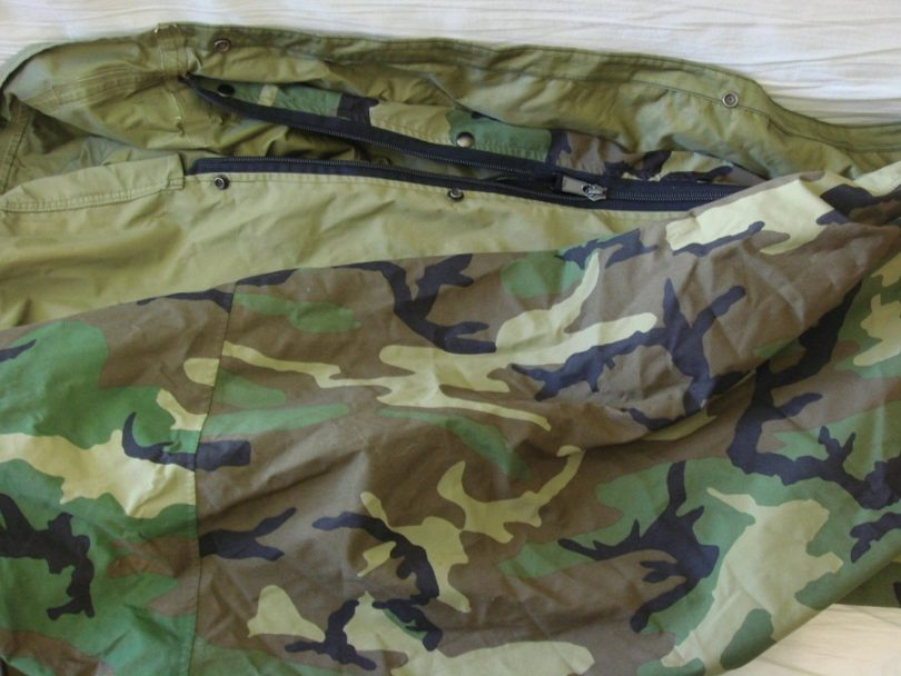 The Woodland Camo Bivy Cover
