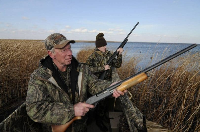 Waterfowl hunting grounds