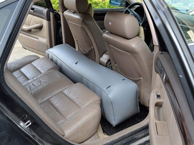 Air matress in the car