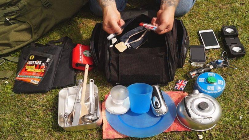 Camping gar