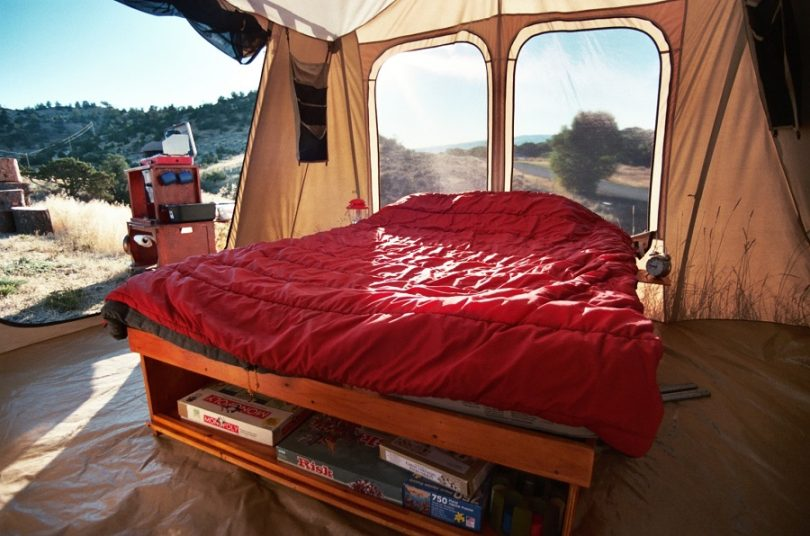Comfortable luxury tent