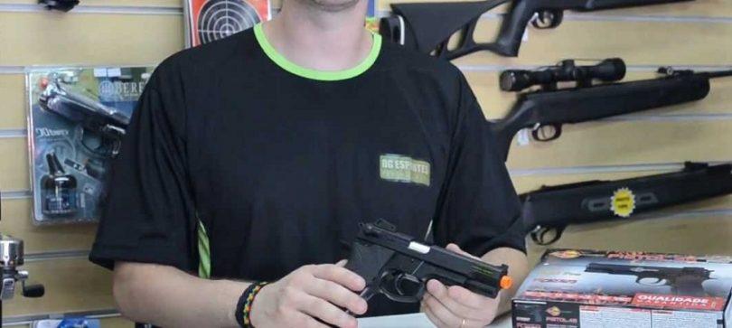 Firepower .45 Metal Slide Airsoft Pistol (6mm)