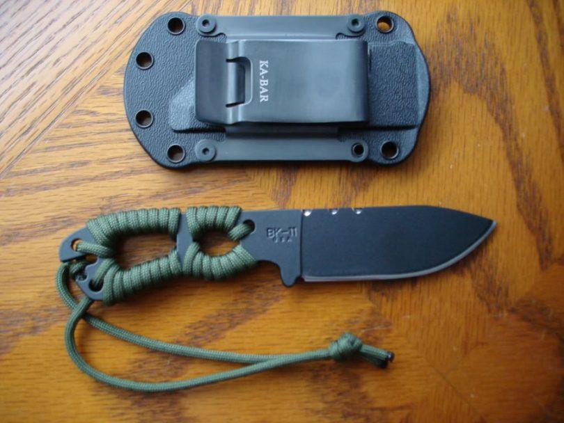 Ka-Bar BK11 Becker Necker Neck Knife