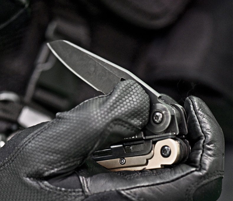 Leatherman - Mut® Black, Molle Brown Sheath