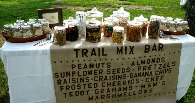 Making your own trail mix