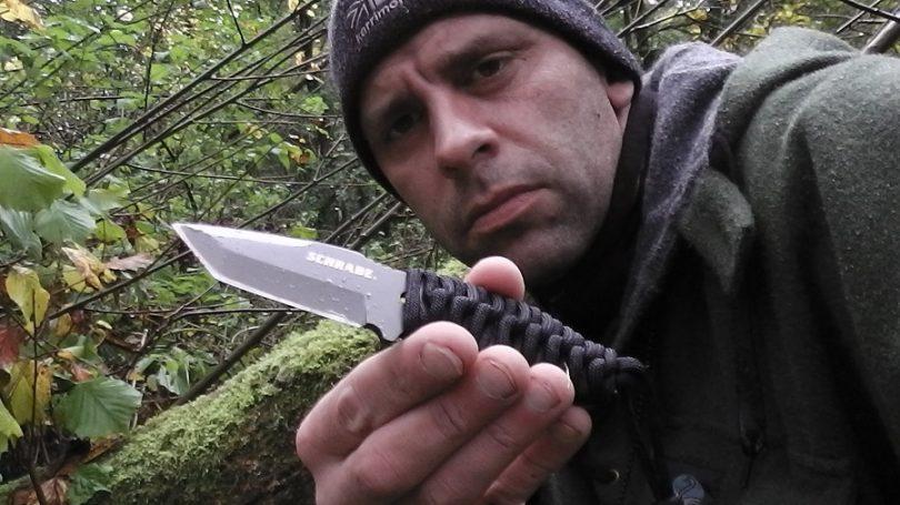 Neck knife survival