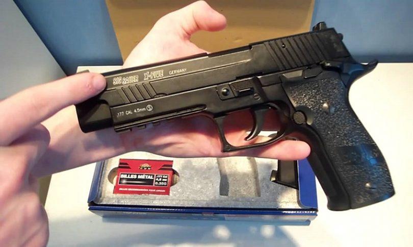 Sig Sauer P226 X-Five .177cal