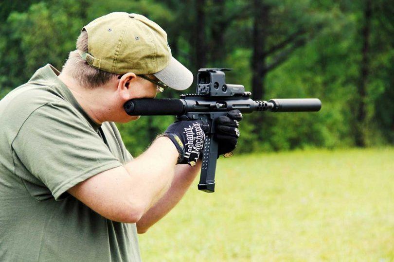 TNW Firearms 9MM ASR in action