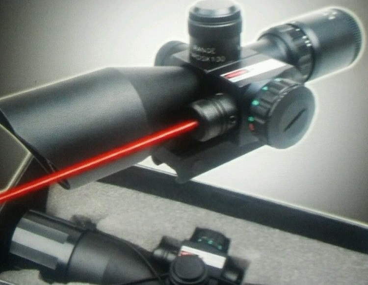 CVLife Optics Hunting Rifle Scope 2.5-10x40e