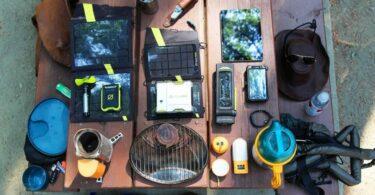 Camping gear gadgets