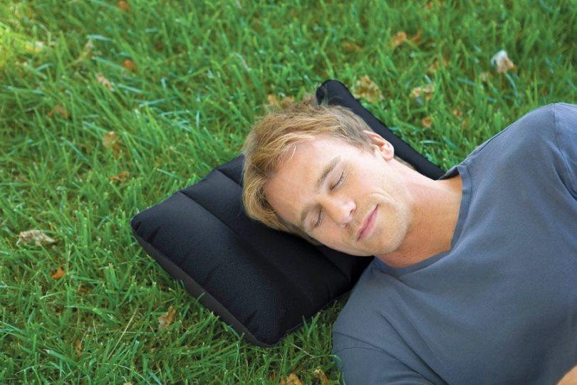Camping pillow comfort