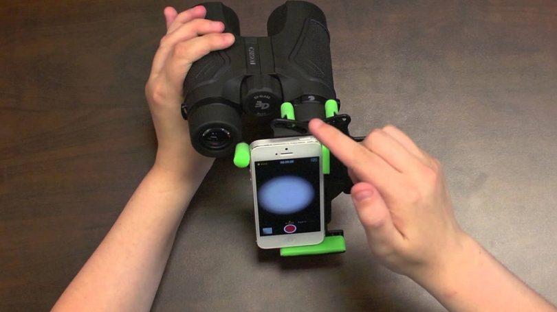 Carson HookUpz Universal Smart Phone Optics Digiscoping Adapter