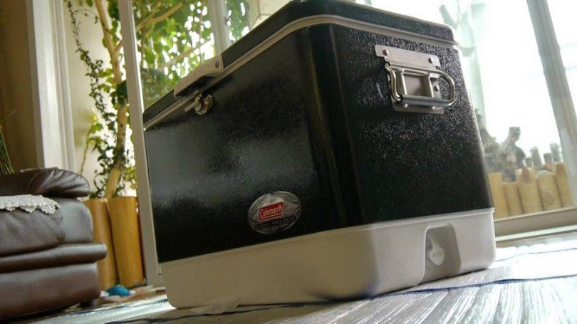 Coleman Steel Cooler