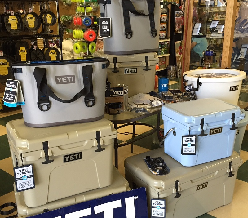 Different kinds of coolers