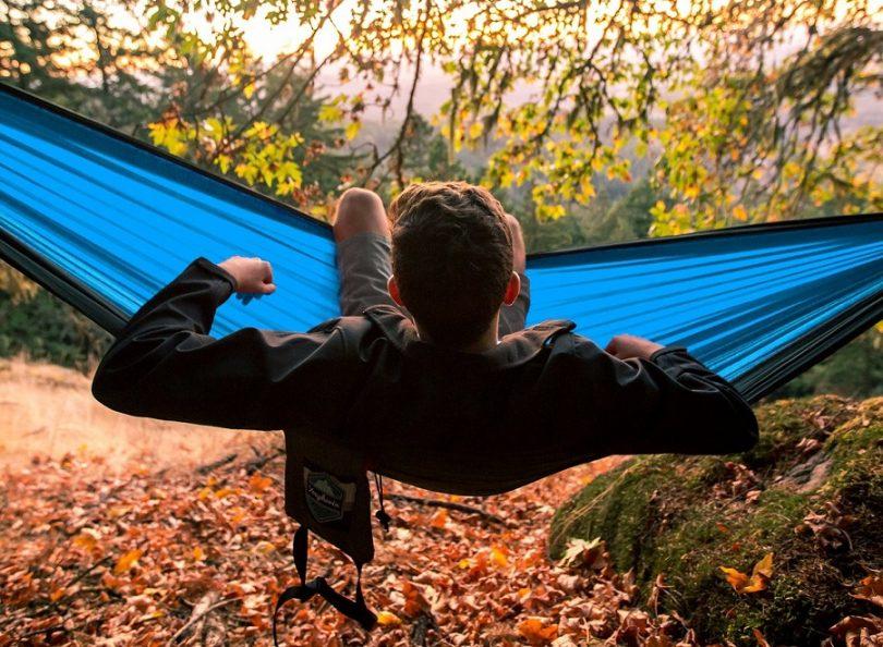 Double Parachute Camping Hammock