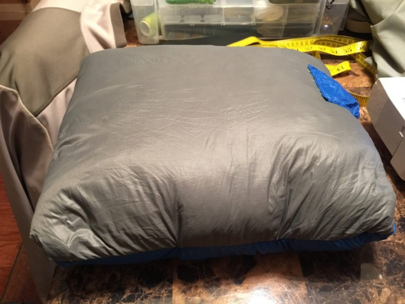 Hybrid camping pillow