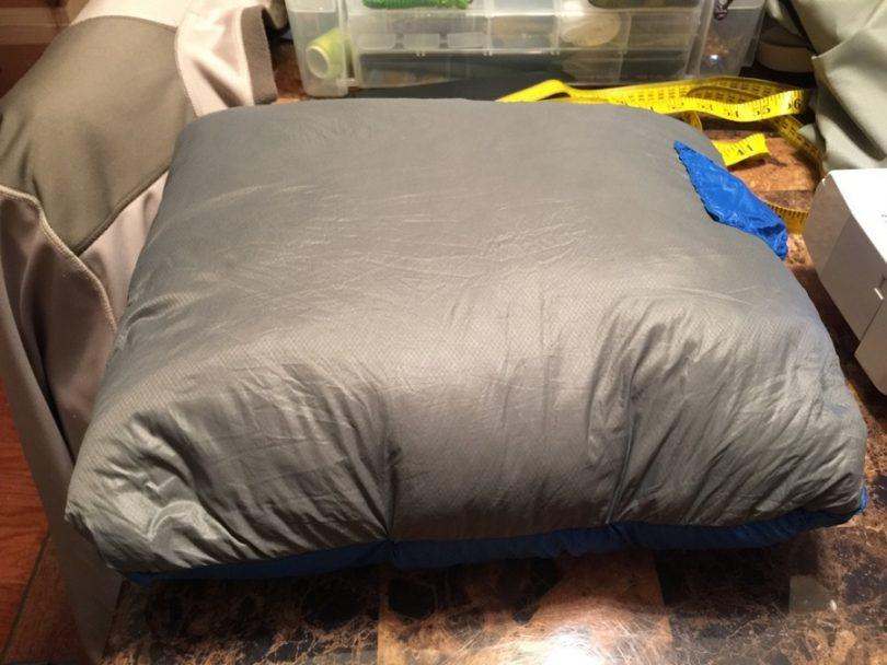 Hybrid camping pillow
