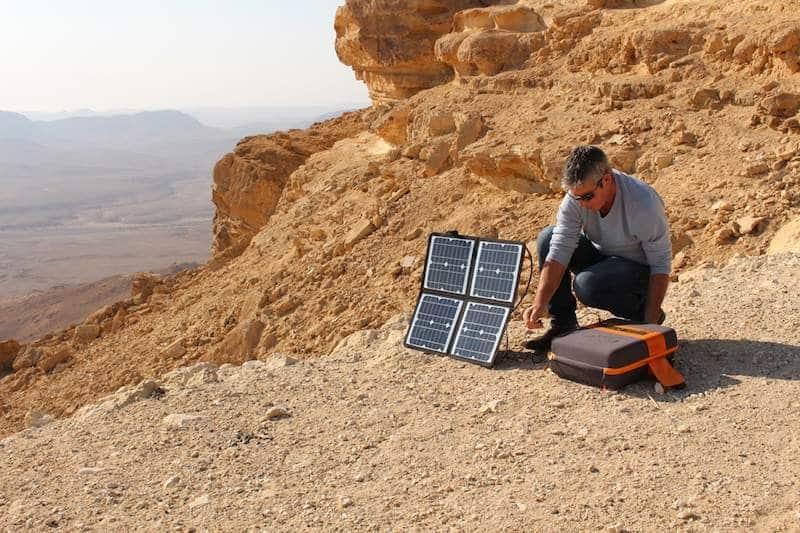 Kalipak solar generator in action