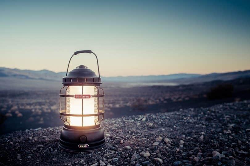 Lantern in action