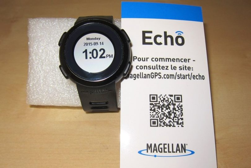 Magellan Echo Smart Sports Watch (Black)