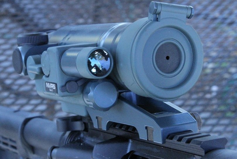 Night-vision-scope testing