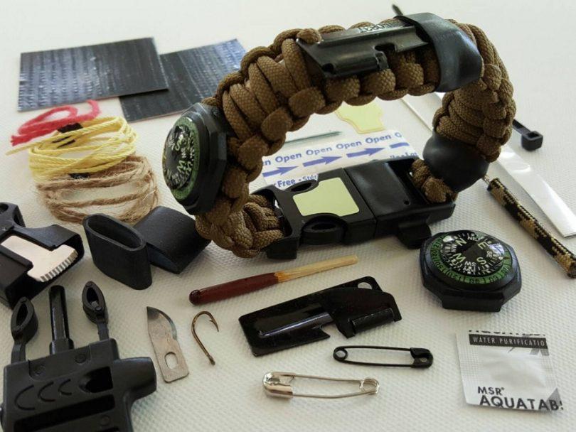 Paracord Survival Bracelet review
