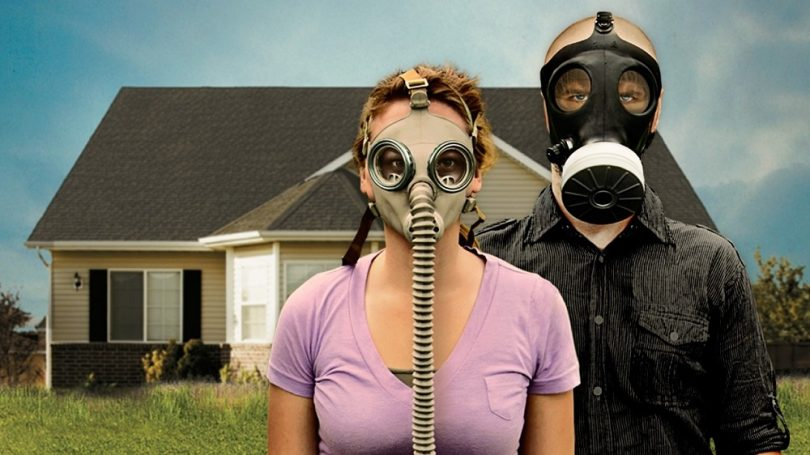 Preppers with masks