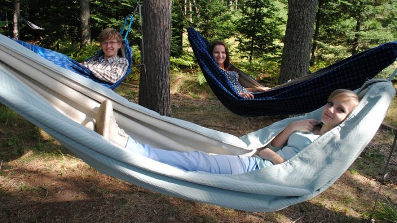 Setting up your hammock