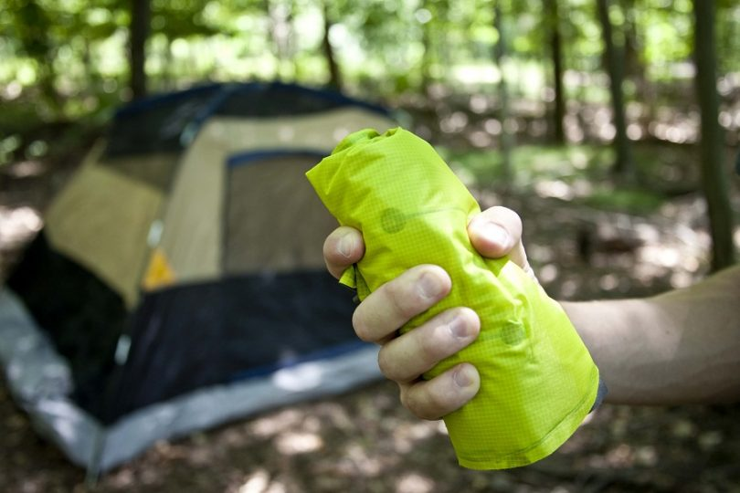 Sleeping pad for backpackers and campers