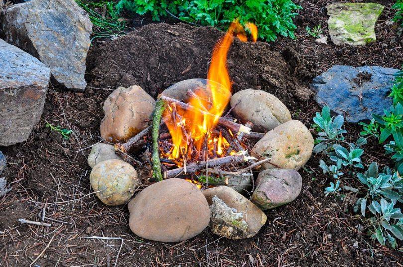 Start-a-Fire-With a Lighter