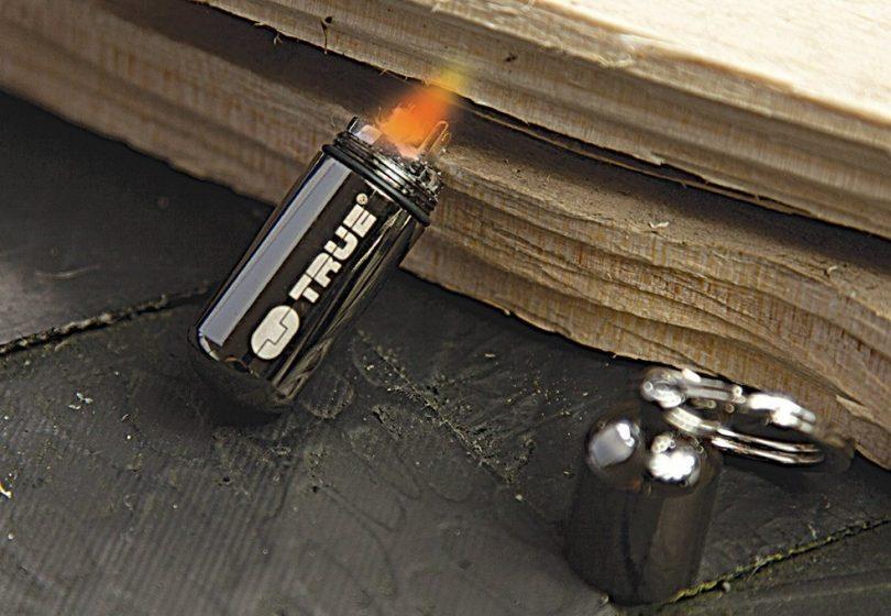 True Utility TU262 FireStash Miniature Key Ring Lighter