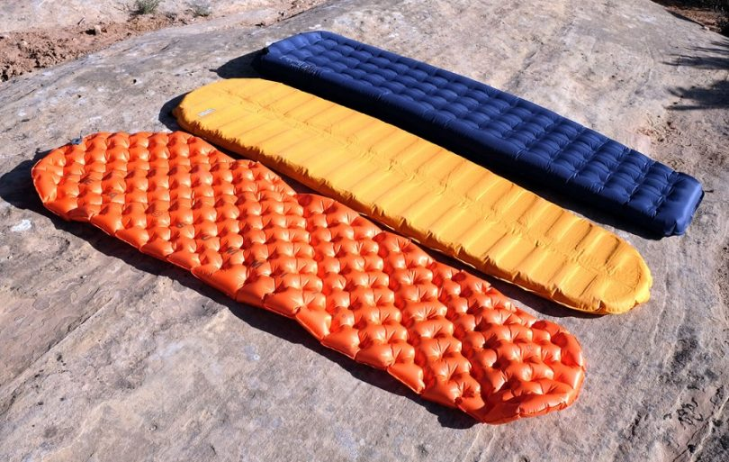 Types of sleeping pads