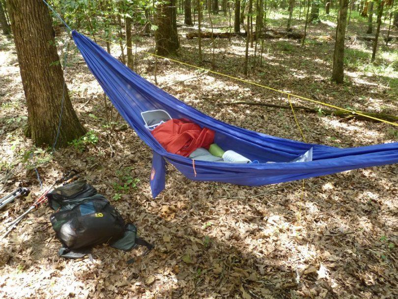 Ultralight hammock