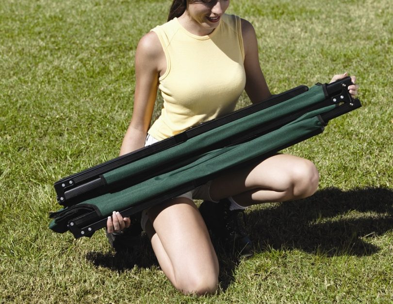 Weight & holding capacity of camping cot