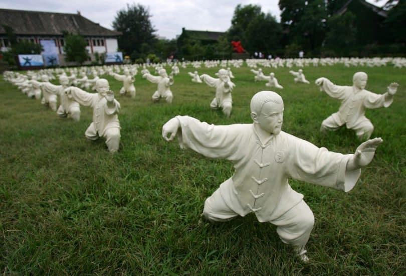 Tai chi old martial art