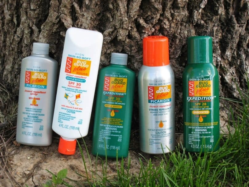 Avon SKIN-SO-SOFT Bug Guard PLUS IR3535