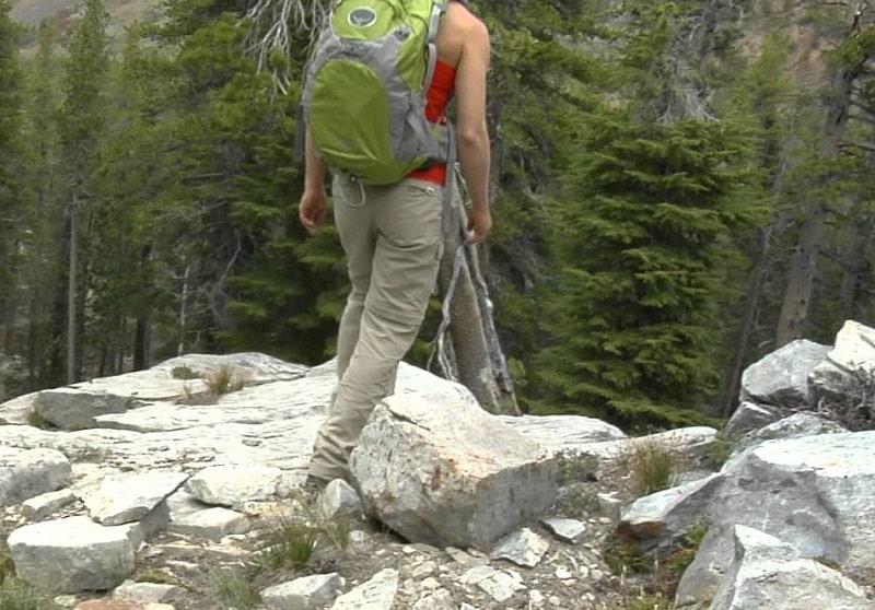 Hiking convertible pants