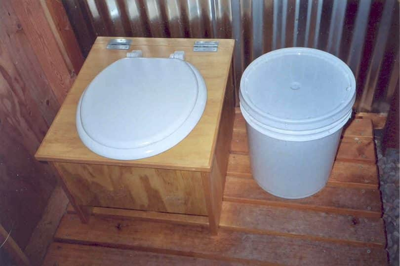 homemade toilets for camping