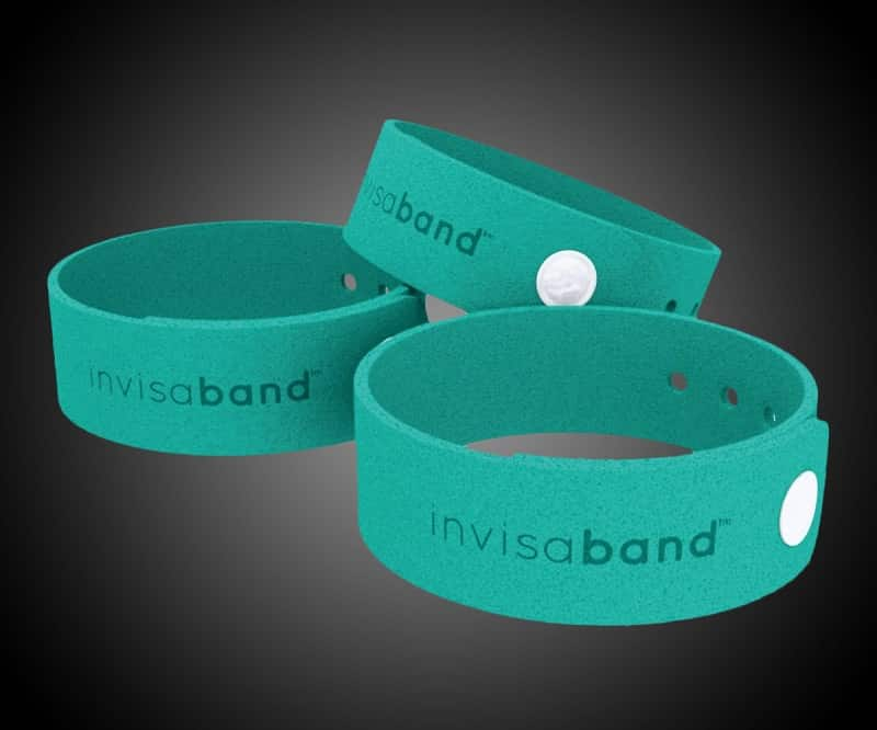 Invisaband 6 Pack All Natural Mosquito Repellent Bracelets