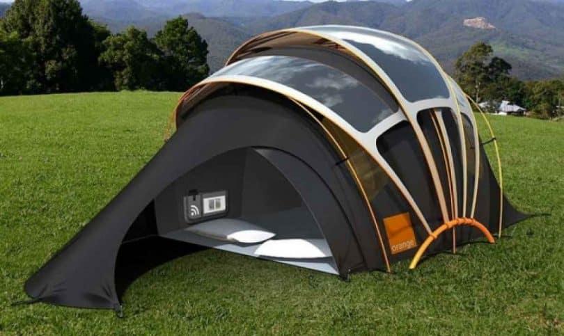 kaleidoscope tent
