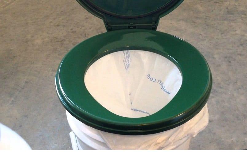 making portable toilet