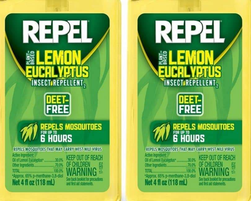 Repel Lemon Eucalyptus Natural Insect Repellent Pump Spray, 4-Ounce