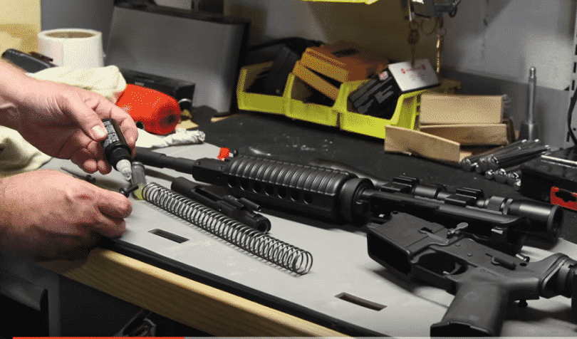 rifle cleaning safety